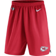 Nike Men's Kansas City Chiefs Dry Knit Red Performance Shorts