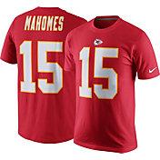 Nike Men's Kansas City Chiefs Patrick Mahomes #15 Pride Red T-Shirt