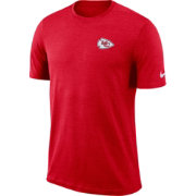 Nike Men's Kansas City Chiefs Sideline Coaches Performance Red T-Shirt