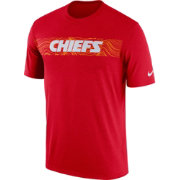Nike Men's Kansas City Chiefs Sideline Seismic Legend Performance Red T-Shirt