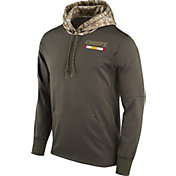 Nike Men's Kansas City Chiefs Salute to Service 2017 Therma-FIT Performance Hoodie