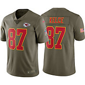Nike Men's Home Limited Salute to Service Kansas City Chiefs Travis Kelce #87 Jersey