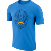 Nike Men's Los Angeles Chargers Icon Performance Blue T-Shirt