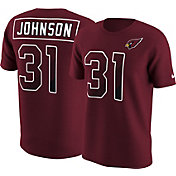 Nike Men's Arizona Cardinals David Johnson #31 Prism Player Red T-Shirt