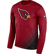 Nike Men's Arizona Cardinals Sideline 2017 Prism Long Sleeve Performance Shirt