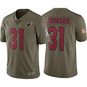 Nike Men's Home Limited Salute to Service 2017 Arizona Cardinals David Johnson #31 Jersey