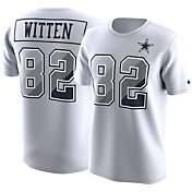 Nike Men's Dallas Cowboys Jason Witten #82 Prism Player White T-Shirt