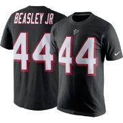 Nike Men's Atlanta Falcons Vic Beasley #44 Pride Black T-Shirt