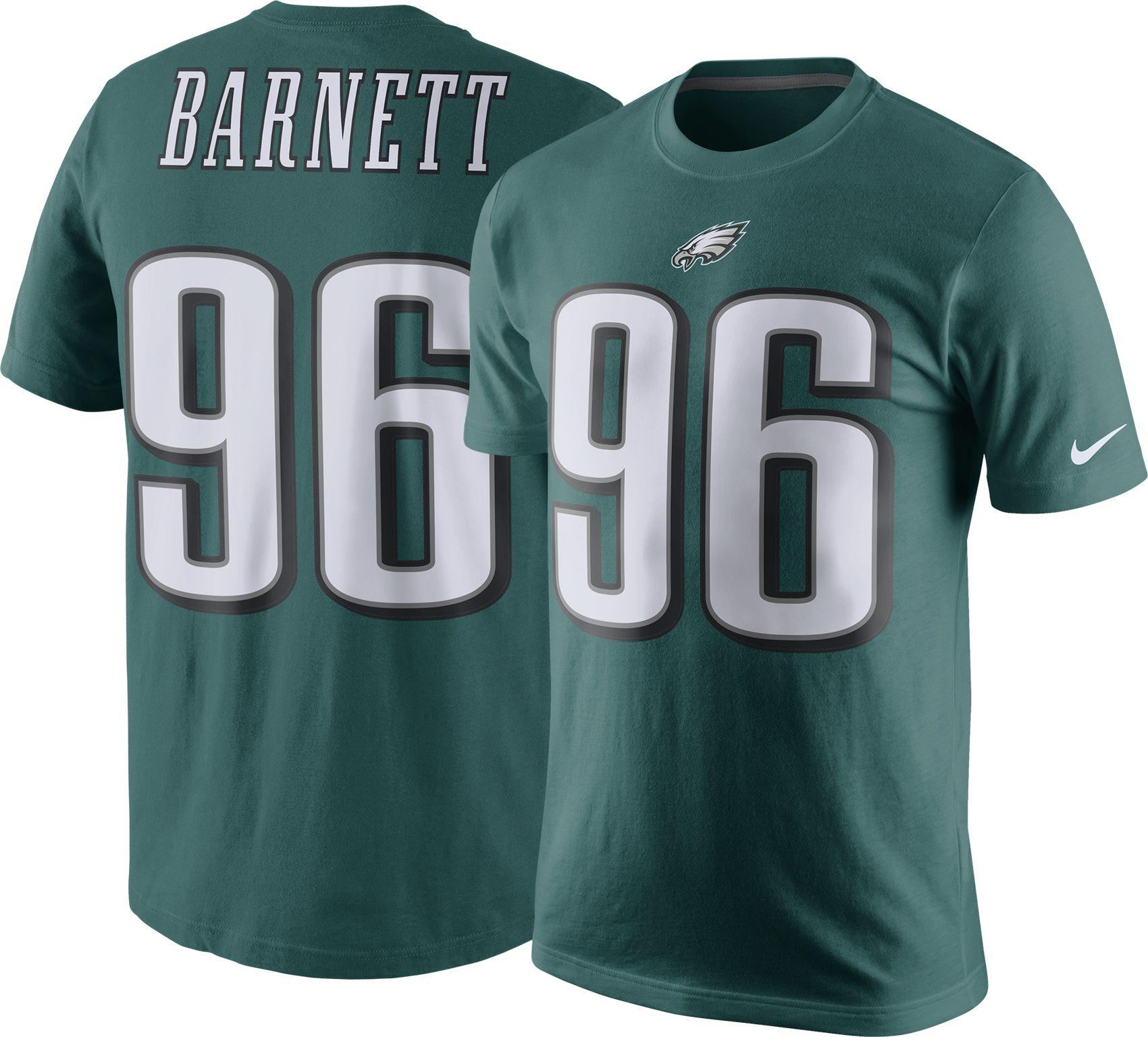... T-Shirt Nike Mens Philadelphia Eagles Derek Barnett 96 Pride Green T  2017 Derek Barnett Jersey ... ca4e5deaa