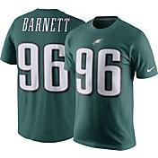 Nike Men's Philadelphia Eagles Derek Barnett #96 Pride Green T-Shirt