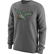 Nike Men's Philadelphia Eagles Alt Logo Grey Long Sleeve Shirt