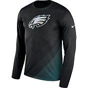 Nike Men's Philadelphia Eagles Sideline 2017 Prism Long Sleeve Performance Shirt