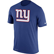 Nike Men's New York Giants Legend Logo Blue T-Shirt