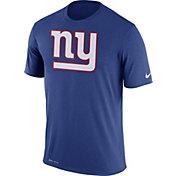 Nike Men's New York Giants Legend Logo Blue T-Shirt