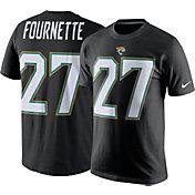 Nike Men's Jacksonville Jaguars Leonard Fournette #27 Pride Black T-Shirt
