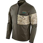 Nike Men's Jacksonville Jaguars Salute to Service 2017 Shield Hybrid Jacket