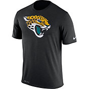 Nike Men's Jacksonville Jaguars Legend Logo Performance Black T-Shirt