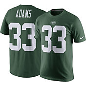 Nike Men's New York Jets Jamal Adams #33 Pride Green T-Shirt