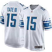 Nike Men's Away Game Jersey Detroit Lions Golden Tate #15