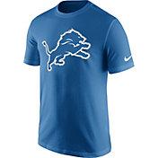 Nike Men's Detroit Lions Essential Logo Blue T-Shirt