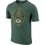 Nike Men's Green Bay Packers Icon Performance Green T-Shirt