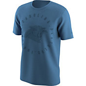 Nike Men's Carolina Panthers Color Rush Logo Blue T-Shirt