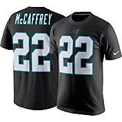 Nike Men's Carolina Panthers Christian McCaffrey #22 Pride Black T-Shirt