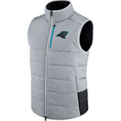 Nike Men's Carolina Panthers Sideline 2017 Grey Vest