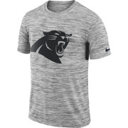Nike Men's Carolina Panthers Legend Velocity Travel Performance Grey T-Shirt
