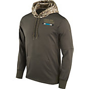 Nike Men's Carolina Panthers Salute to Service 2017 Therma-FIT Performance Hoodie