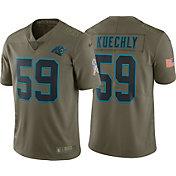 Nike Men's Home Limited Salute to Service 2017 Carolina Panthers Luke Kuechly #59 Jersey