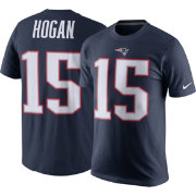 Nike Men's New England Patriots Chris Hogan #15 Navy Pride T-Shirt