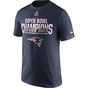 Nike Men's Super Bowl LI Champions New England Patriots Parade Navy T-Shirt