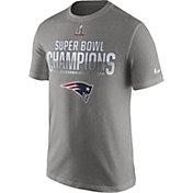 Nike Men's Super Bowl LI Champions New England Patriots Parade Grey T-Shirt