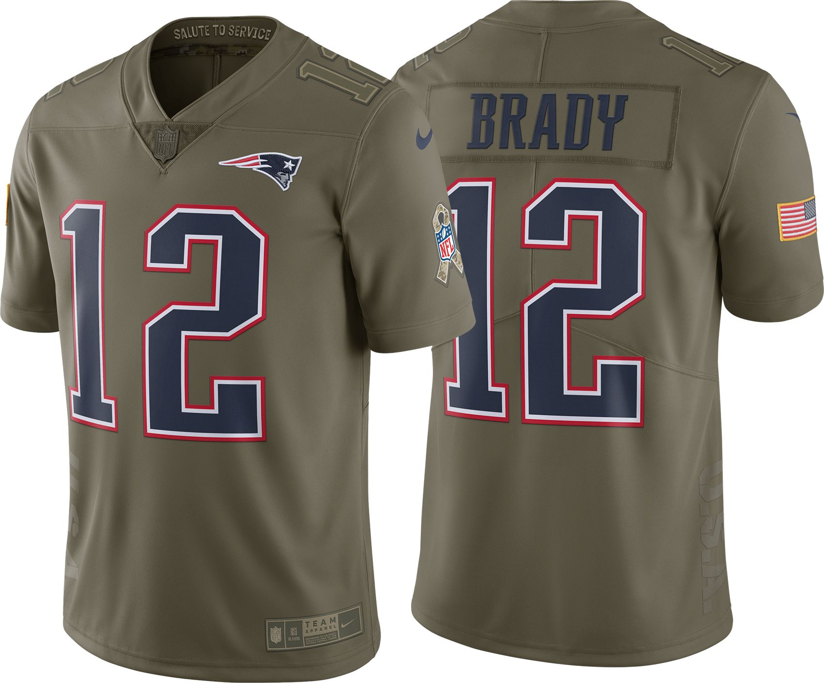 ... 12 Tom Brady Womens Salute To Service Jersey Product Image · Nike Mens  Home Limited Salute to Service 2017 New England Patriots Tom Brady ... e399d7fa6