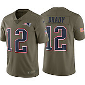 Nike Men's Home Limited Salute to Service New England Patriots Tom Brady #12 Jersey