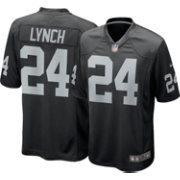 Nike Men's Home Game Jersey Oakland Raiders Marshawn Lynch #24