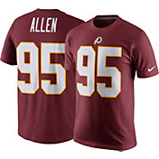 Nike Men's Washington Redskins Jonathan Allen #95 Pride Red T-Shirt
