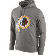 Nike Men's Washington Redskins Performance Circuit Logo Essential Grey Hoodie