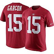 Nike Men's San Francisco 49ers Pierre Garcon #15 Pride Red T-Shirt