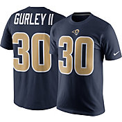 Nike Men's Los Angeles Rams Todd Gurley #30 Pride Navy T-Shirt