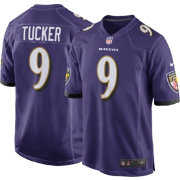Nike Men's Home Game Jersey Baltimore Ravens Justin Tucker #9