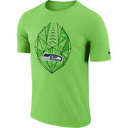 Nike Men's Seattle Seahawks Icon Performance Green T-Shirt