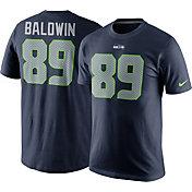 Nike Men's Seattle Seahawks Doug Baldwin #89 Pride Navy T-Shirt
