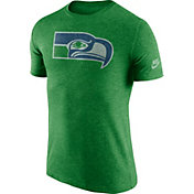 Nike Men's Seattle Seahawks Historic Logo Green T-Shirt