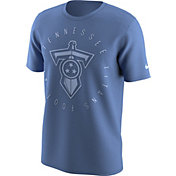 Nike Men's Tennessee Titans Color Rush Logo Blue T-Shirt
