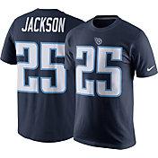 Nike Men's Tennessee Titans Adoree' Jackson #25 Pride Navy T-Shirt