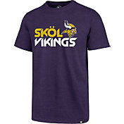 '47 Men's Minnesota Vikings Skol Purple T-Shirt