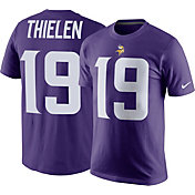 Nike Men's Minnesota Vikings Adam Thielen #19 Pride Purple T-Shirt