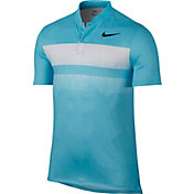 Nike Men's Modern Fit TR Dry 6/1 Print Golf Polo